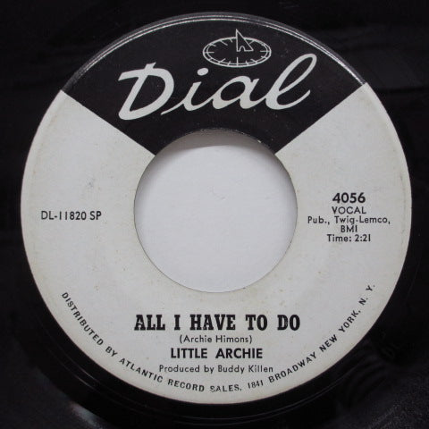 LITTLE ARCHIE - All I Have To Do (Promo)