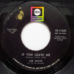 LEE MAYE - If You Leave Me