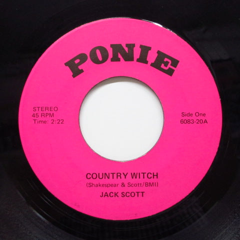 JACK SCOTT - Country WItch (Orig)