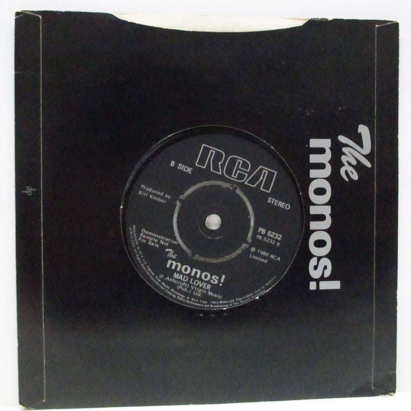 "MONOS!, THE - Uh Oh Uh Oh (UK Promo 7"")"