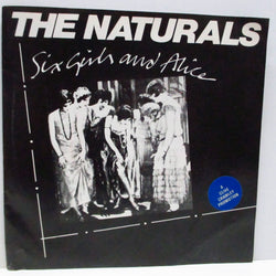 "NATURALS, THE - Six Girls And Alice (UK Re 7""/Stickered PS)"