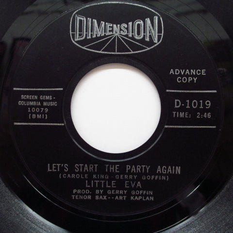 LITTLE EVA - Let's Start The Party Again