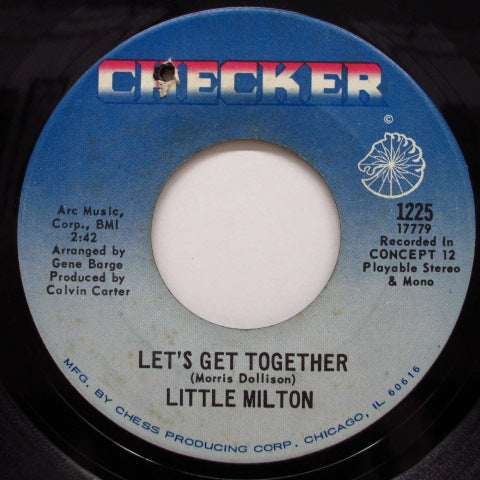 LITTLE MILTON - Let's Get Together / I'll Always Love You