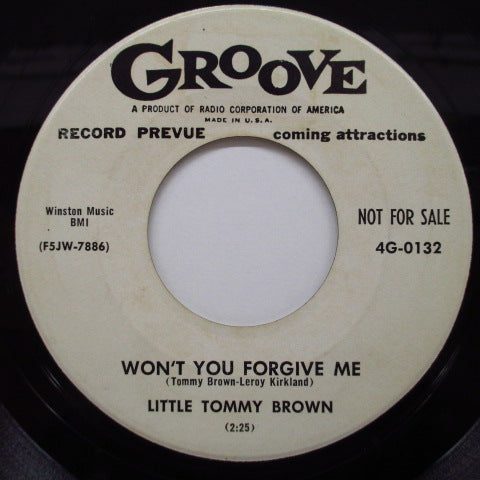 LITTLE TOMMY BROWN - Don't Leave Me (Promo)