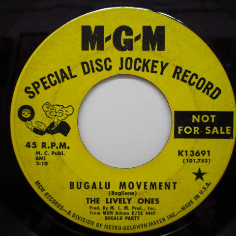 LIVELY ONES - Bugalu Movement / Take It While You Can