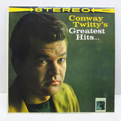CONWAY TWITTY - Greatest Hits (US '68 Re Stereo LP)