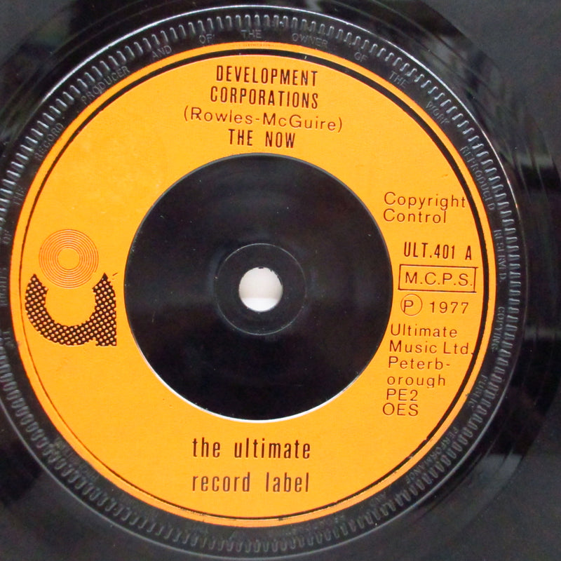 "NOW, THE - Development Corporations (UK Orig.7""/NOPS)"
