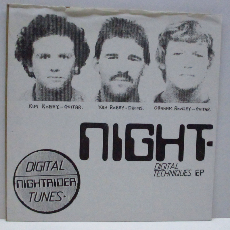 "NIGHTRIDER - Digital Techniques EP (UK Orig.7""/NOPS)"