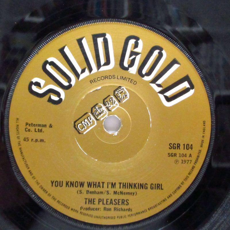 "PLEASERS, THE - You Know What I'm Thinking Girl (UK Orig.7"")"