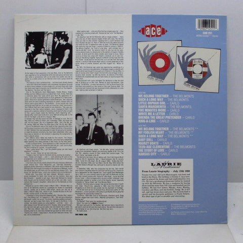 CARLO & THE BELMONTS-Carlo & The Belmonts (UK Orig.LP)