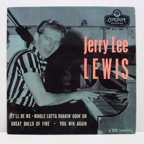 JERRY LEE LEWIS - S.T. (No.1) (UK Orig.Triangle Center EP/CFS)