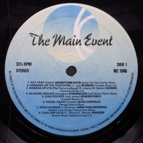 V.A. - The Main Event (UK Orig.LP/CS)
