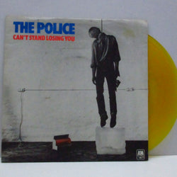 "POLICE, THE - Can't Stand Losing You (UK Re Yellow Vinyl 7"")"