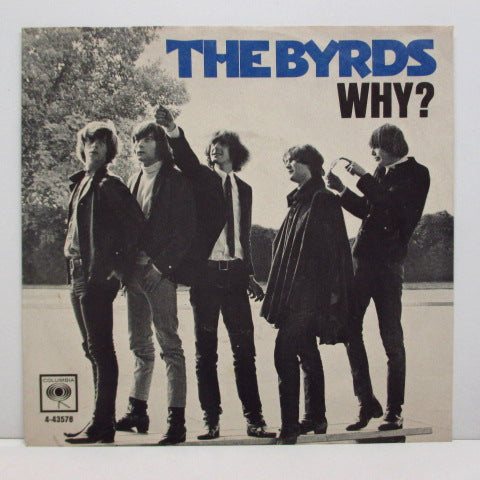 BYRDS - Eight Miles High  / Why  (US Orig.+PS)