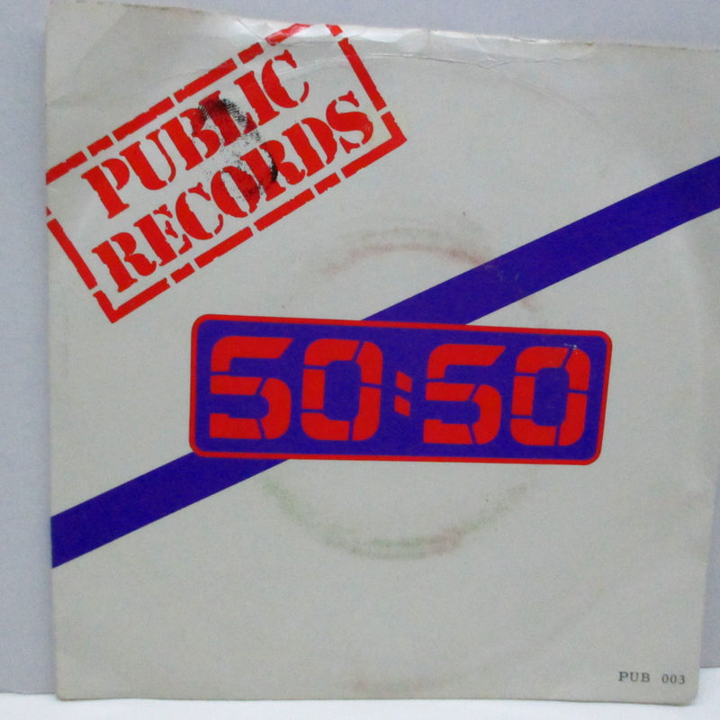 "50:50 - Let Me Out Of Here (UK Orig.7"")"