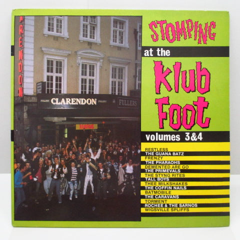 V.A. - Stomping At The Klub Foot Vol.3&4 (UK Orig.2xLP/GS)