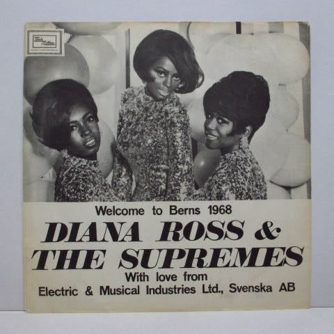 "SUPREMES (シュープリームス)  - Greatest Hits (Sweden Promo 7""+PS)"