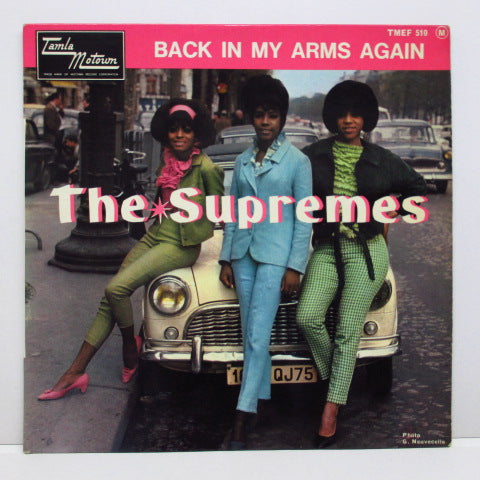 SUPREMES (シュープリームス)  - Back In My Arms Again (France Orig.EP/CFS)