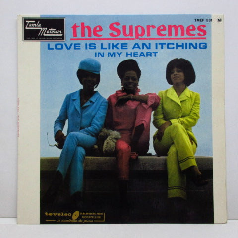 SUPREMES (シュープリームス)  - Love Is Like An Itching In My Heart (France Orig.EP/CFS)
