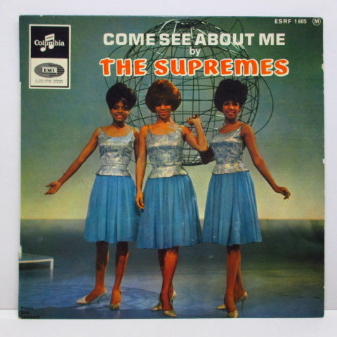 SUPREMES (シュープリームス)  - Come See About Me (France Orig.EP/CFS)