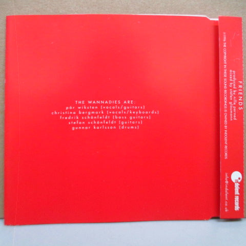 WANNADIES, THE - Friends (UK Promo.CD)