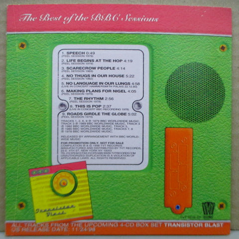 XTC - What Do You Call That Noise? (US Promo.CD)