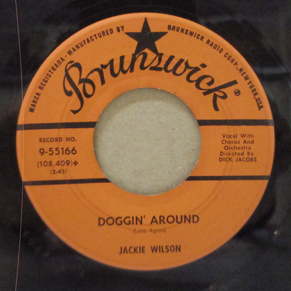 JACKIE WILSON - Night / Doggin' Around (Orig.)
