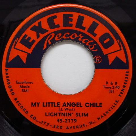 LIGHTNIN' SLIM - Too Close Blues / My Little Angel Chile