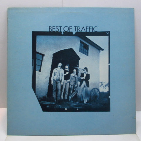 TRAFFIC - Best Of Traffic (UK 70's Re LP/Blue Rim)