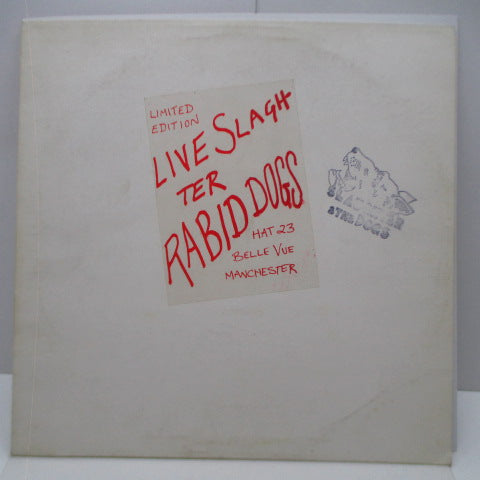 SLAUGHTER & THE DOGS - Live Slaughter Rabid Dogs (UK Orig.LP)