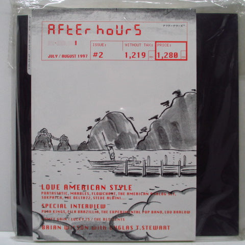 "AFTERHOURS Issue2 (アフターアワーズ)  - Issue 2 (Japan Orig.Zine+7"")"