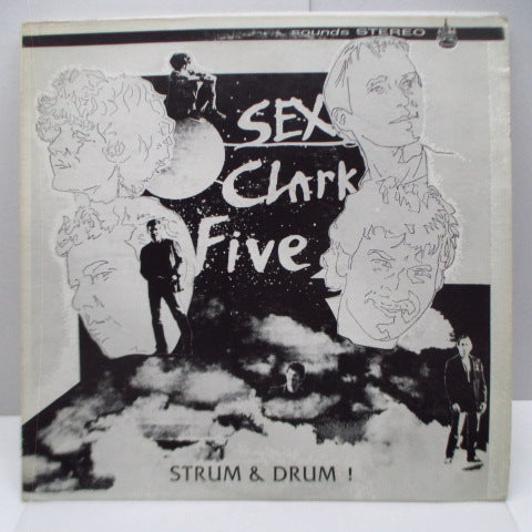 SEX CLARK FIVE - Strum & Drum! (US Orig.LP/Standing Members CVR)