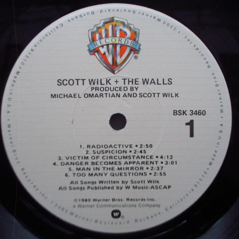 SCOTT WILK + THE WALLS - S.T. (US Orig.LP)