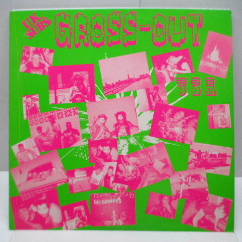 U.K. SUBS - Gross Out USA (UK Orig.LP/Green CVR)