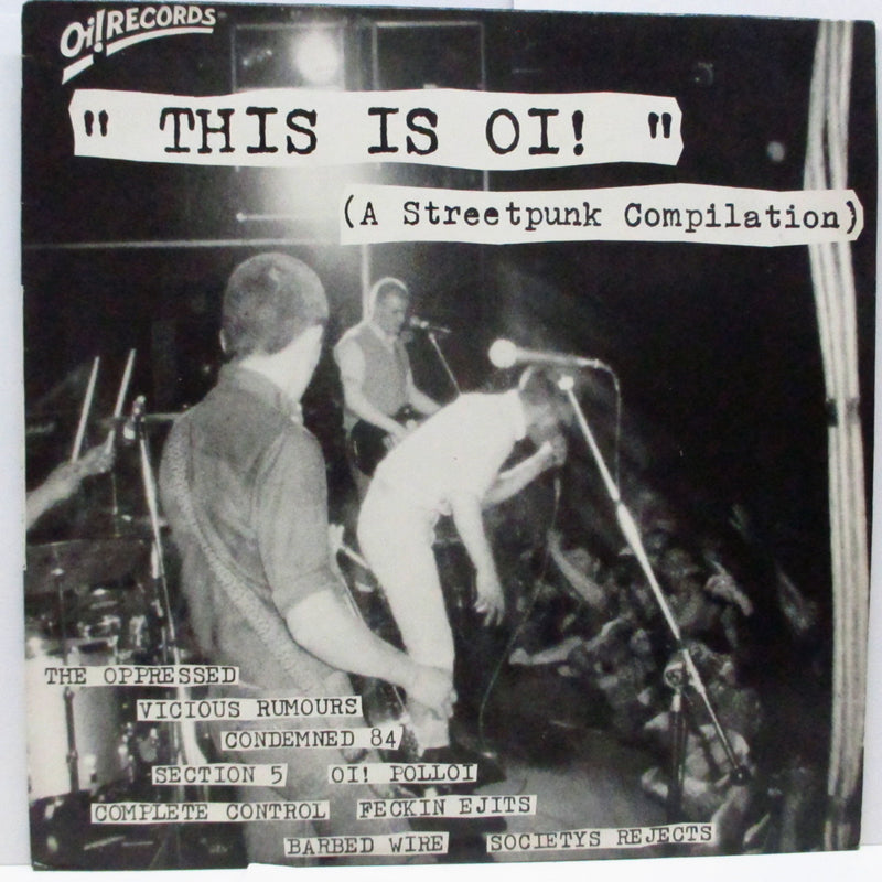 V.A. - This Is Oi! (UK Orig.LP)
