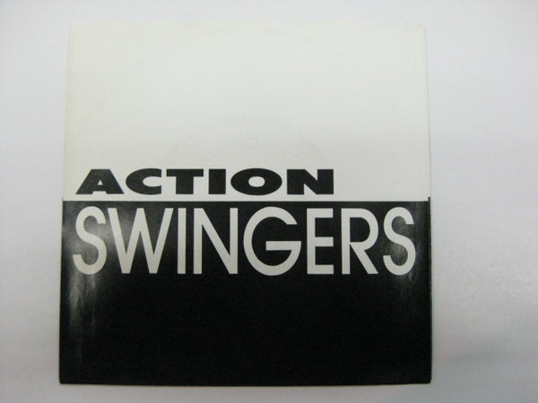 "ACTION SWINGERS (アクション・スウィンガーズ)  - Fear Of A Fucked Up Planet (US Ltd.Red Vinyl 7"")"