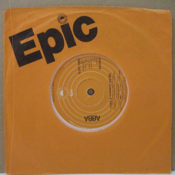 "ABBA - Take A Chance On Me (UK Orig.7""+CS/Made In USA Export)"