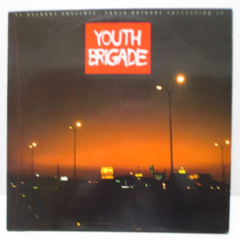 YOUTH BRIGADE - Youth Brigade Collection LP (France Orig.LP)