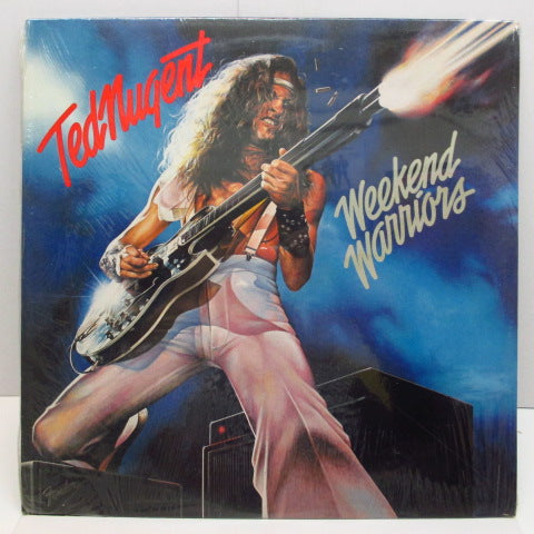 TED NUGENT (テッド・ニュージェント)  - Weekend Warriors (US Orig.LP/SEALD)