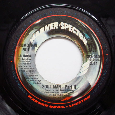 CALHOON - Soul Man (Part.1&2) (Promo)
