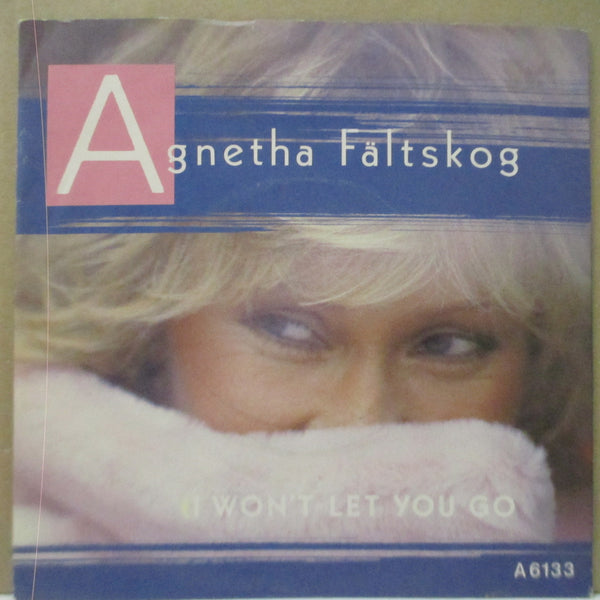 "AGNETHA FALTSKOGS - I Won't Let You Go (UK Orig.7""+PS)"