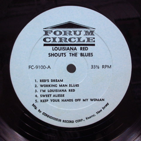 LOUISIANA RED - Shouts The Blues (US '70 Re Mono LP)