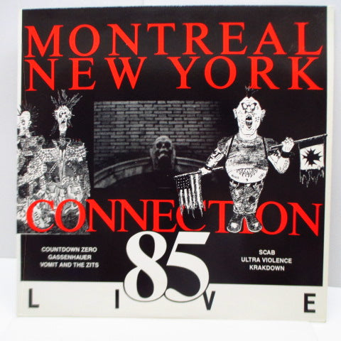 V.A. - Montreal New York Connection 85 Live (US Orig.LP)