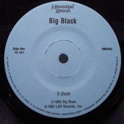 "BIG BLACK - Il Duce (US Orig.7"")"