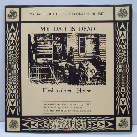 "BASTRO / MY DAD IS DEAD - Nothing Special / Flesh-Colored House (UK Ltd.7"")"