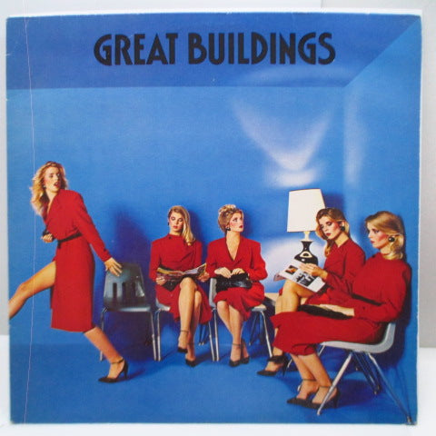 GREAT BUILDINGS - Apart From The Crowd (Dutch Orig.LP)