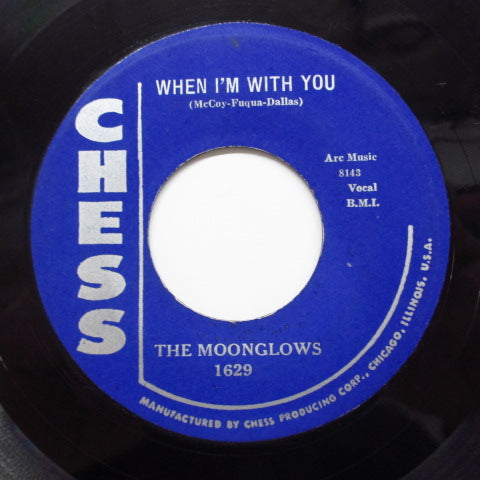 MOONGLOWS - See Saw (60's 2nd Press)