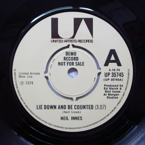 NEIL INNES - Lie Down And Be Counted (UK DEMO)