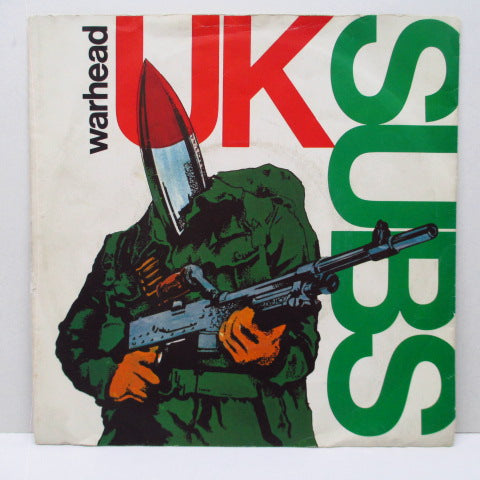 "U.K. SUBS - Warhead +2 (UK Ltd.Brown 7"")"