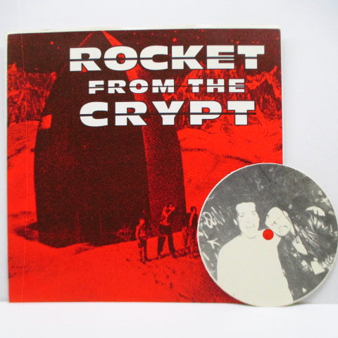 "ROCKET FROM THE CRYPT - Yum Kippered (Italy Ltd.Yellow Vinyl 7"")"